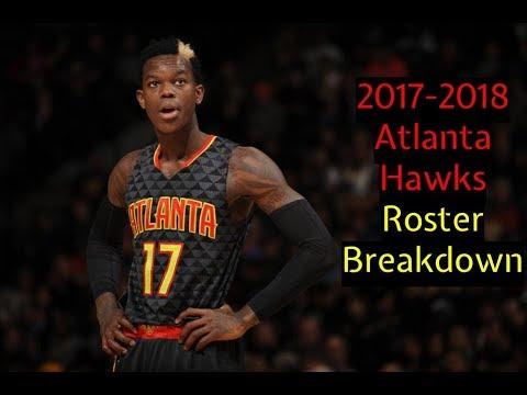 2017 2018 Atlanta Hawks Roster Breakdown NBA 2k18 Rosters