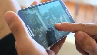 Samsung Galaxy S 4, vista aérea (Air View)