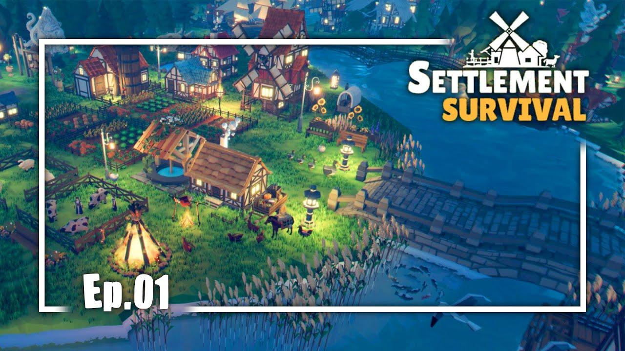 Download SETTLEMENT SURVIVAL Gameplay Español Ep 1   Mi Ciudad Medieval