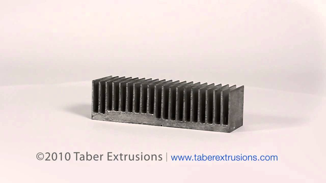 Architectural And Heat Sinks Aluminum Extrusion By Taber Extrusions