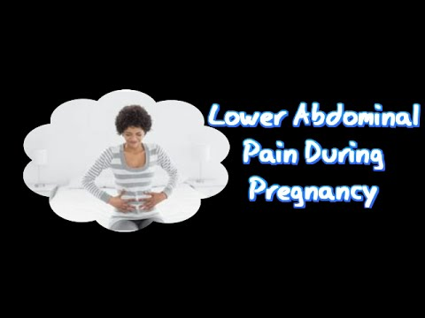 Lower Abdominal Pain During Pregnancy