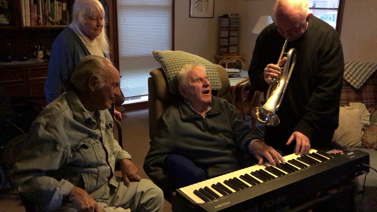 94-Year-Old Stroke Survivor Plays Jazz Piano for the First Time in