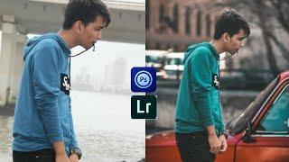 Photoshop touch+Lightroom editing on mobile || shanawaz official ||