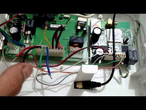 Como ligar uma central gsm ecp maxcell (alard)