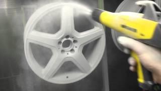 Порошковая покраска дисков(, 2016-01-30T05:31:51.000Z)