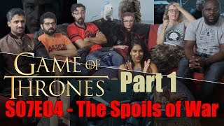 Game of Thrones - 7x4 The Spoils of War [Part 1] - Group Reaction