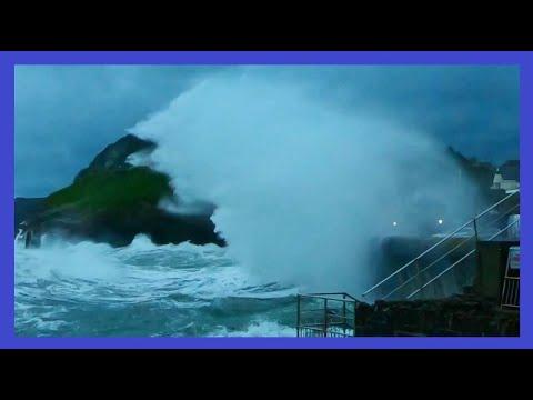 Ilfracombe - Storm Alex Day 1 - October 2020