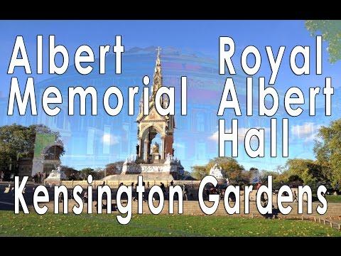 Albert Memorial and Royal Albert Hall, London