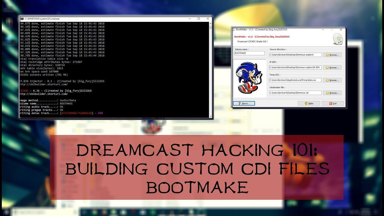 Build Custom CDI Files With Bootmake | Dreamcast Modding 101 | James Reiner  by James Reiner