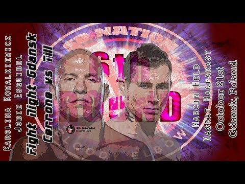 UFC Gdansk: Cerrone vs. Till 6th Round post-fight show