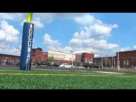 Woodward High new football field