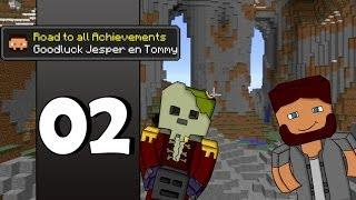 Minecraft Road To All Achievements! Met jesper! Ep.02 - We gaan lekker! [NL Dutch Commentary]