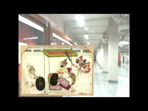 Audio Visual based virtual gallery on Miniature from the collection of Indian Art