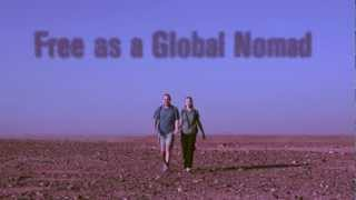 Free as a Global Nomad book trailer