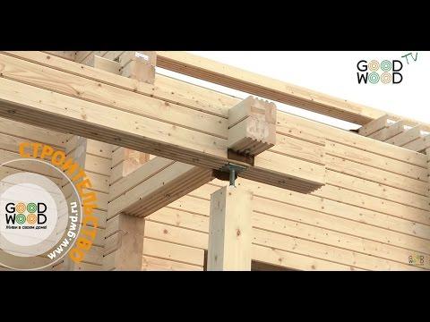 Зачем деревянному дому домкраты? Равномерная усадка деревянного дома.