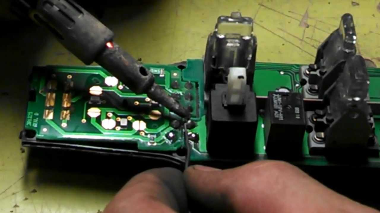Power Door Locks Wiring Diagram Youtube