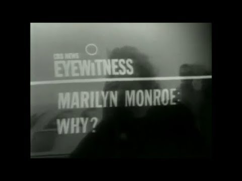 """""""Eyewitness - Marilyn Monroe  Why?""""  -  August 1962 television special"""