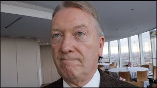 FRANK WARREN REACTS TO KSI-LOGAN PAUL, & TOMMY FURY, TYSON FURY, WILDER, DUBOIS, JOYCE, DAVE ALLEN