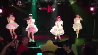 『行くぜ‼  アイドル‼  』KIRA☆PEACE 新宿ルイードK4.