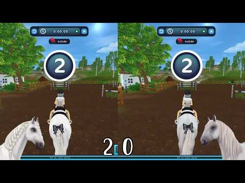 Speed Test, Andalusian Vs Lusitano // Star Stable Online