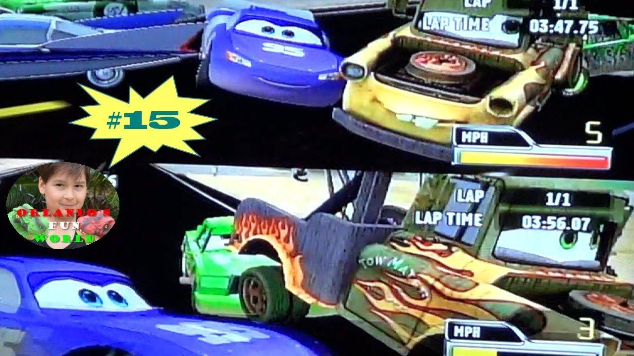 disney pixar cars  race o rama  part15  youtube