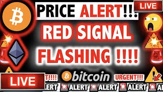 THIS RED SIGNAL IS FLASHING ON BITCOIN & ETHEREUM! ⚠️Crypto Today/ BTC Cryptocurrency Price News Now
