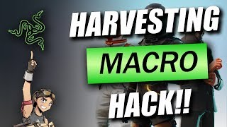 FORTNITE FAST HARVESTING MACRO HACK FOR RAZER❗❗❗ RIP