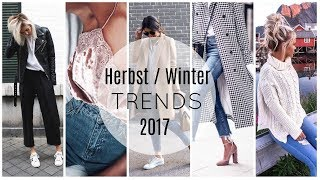 DAS wird Herbst / Winter 2017 TREND - Modetrends 2017 ⎥xapiaxa
