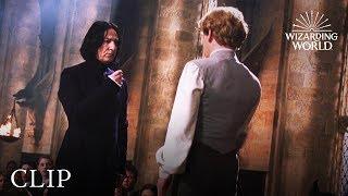 Wizard Duel Severus Snape vs Gilderoy Lockhart  Harry Potter and the Chamber of Secrets