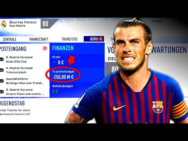 FIFA 19 : REAL IST BÖSE VERSCHULDET !!! 😲 -250 MILLIONEN ☠️ Real Madrid Special Sprint To Glory