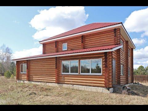 Купить дом в Киржачском районе | Красный Огорок | Дом оцилиндрованное бревно | Риэлтор Киржач