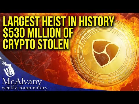 Largest Heist In History? Over $500 Million in Cryptocurrency Stolen Instantly | Weekly Commentary