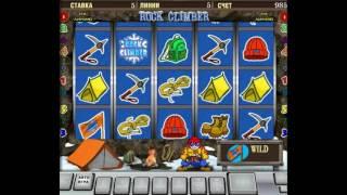 видео игровые автоматы бесплатно скалолаз