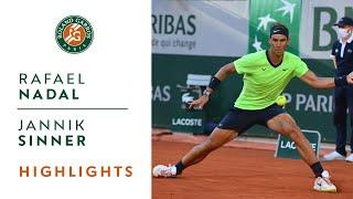 Rafael Nadal vs Jannik Sinner - Round 4 Highlights I Roland-Garros 2021