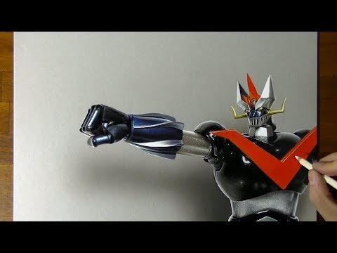 Great Mazinger 3D Drawing グレートマジンガー