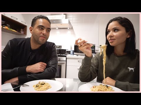 THIS DINNER RECIPE TURNED OUT SO GOOD | DIANA & JOSE
