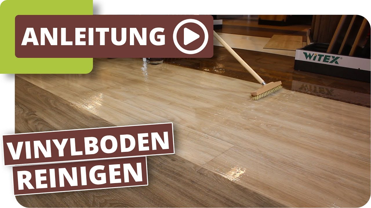 Vinylboden Reinigen Youtube