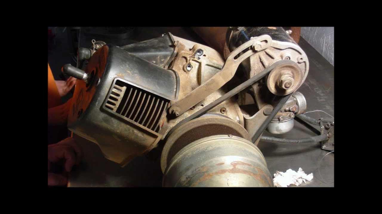 2 Stroke golf cart engine tear down and inspection on
