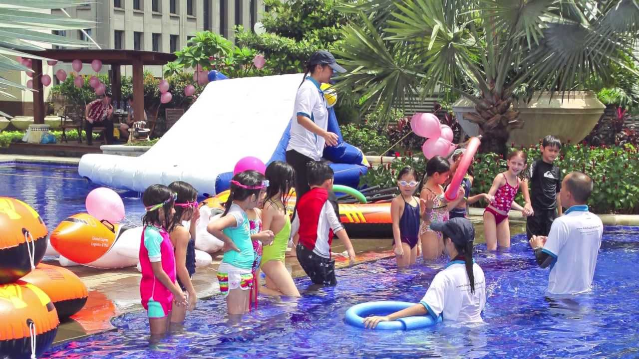 Kids Pool Party Singapore Youtube