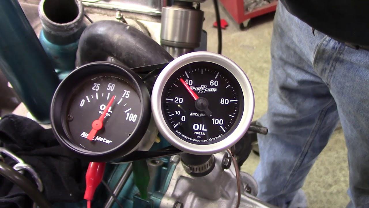autometer electrical vs autometer mechanical gauges [ 1280 x 720 Pixel ]