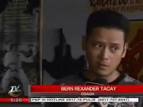 Rexor Tacay on TV Patrol Southern-Mindanao