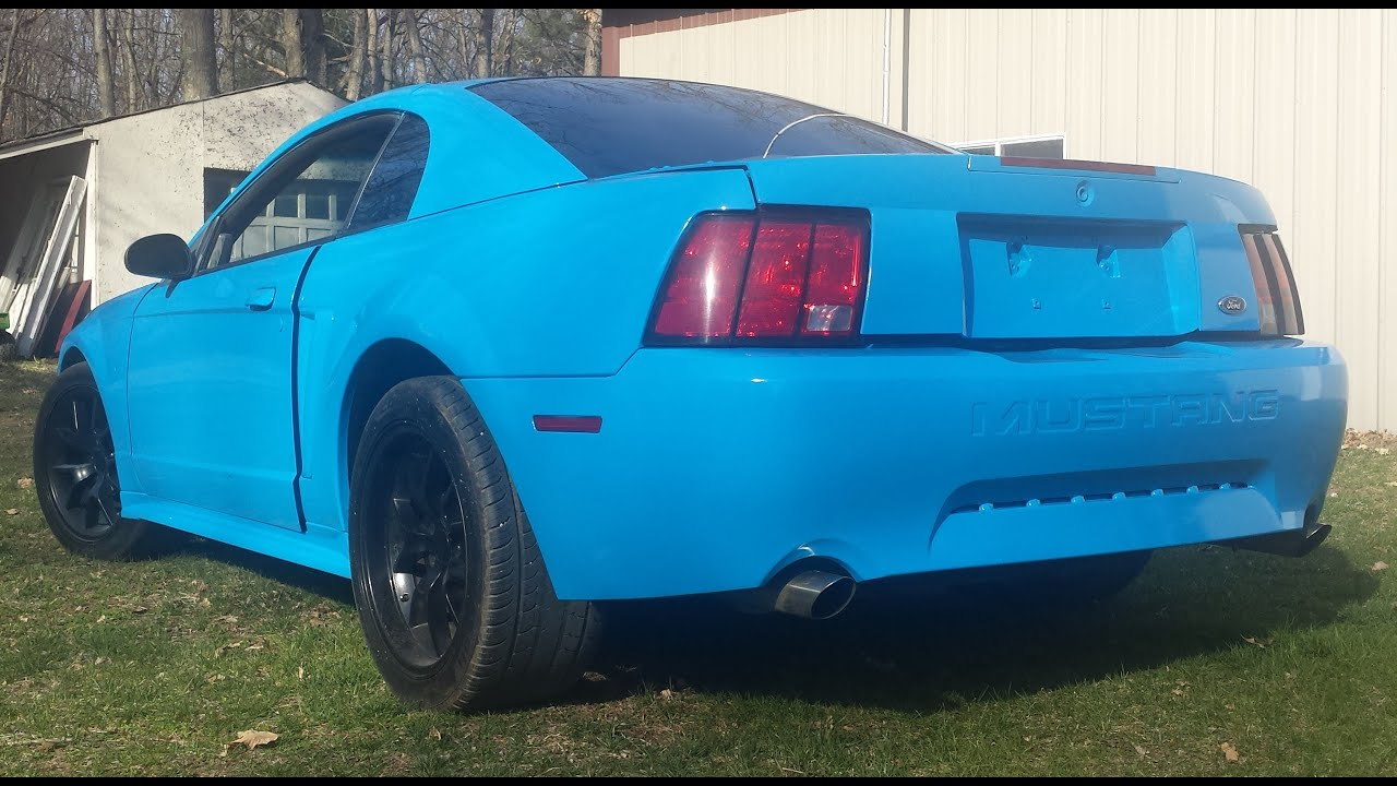 Is Paint Blue Grabber Done Mustang