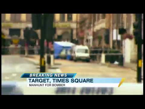 Hunt for Man Who Left Car Bomb in Times Square