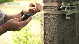 видео Анкерный зажим