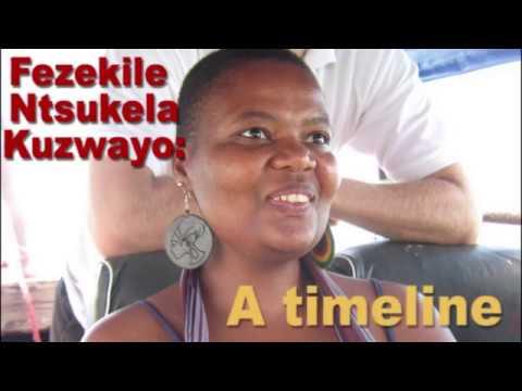 Timeline of Fezekile Ntsukela Kuzwayo