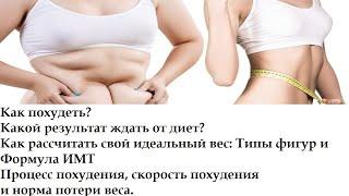 Самое эффективное похудение Норма похудения Расчет ИМТ и ИМТ формула Инструкция по похудению