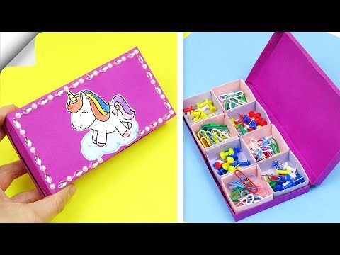 How to make paper box | DIY paper crafts | Easy box
