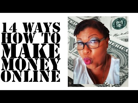 How To Make Money Online 2019/Work From Home Jobs - YouTube