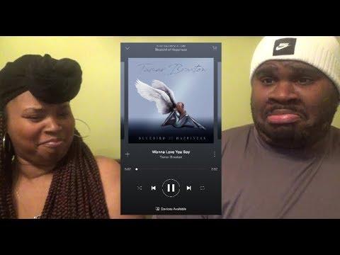 download TAMAR BRAXTON - WANNA LOVE YOU BOY - REACTION