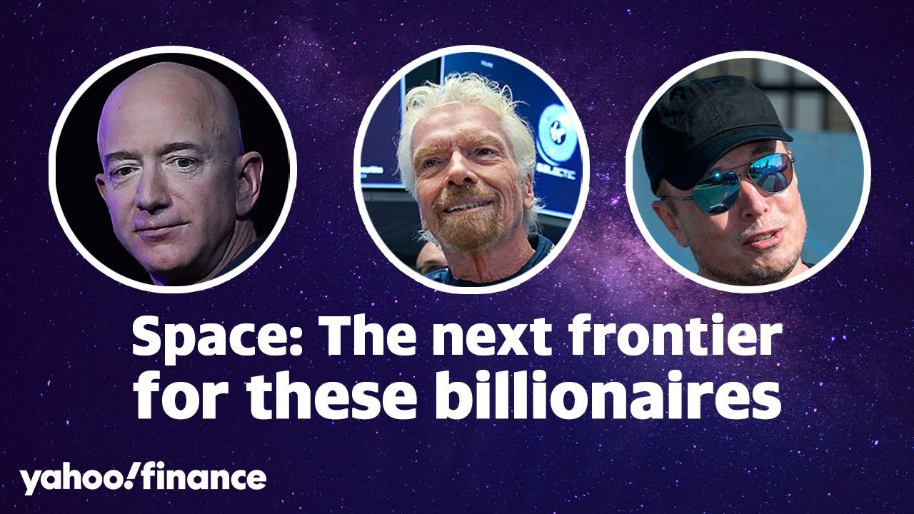 Sir Richard Branson, Elon Musk, and Jeff Bezos all have big plans for space  travel - YouTube